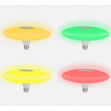 """Išmanioji """"Bluetooth"""" muzikos lemputė  su RGB 6"""