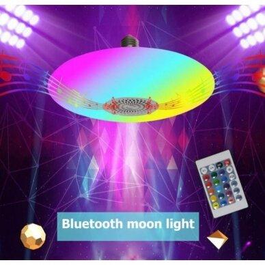 """Išmanioji """"Bluetooth"""" muzikos lemputė  su RGB 7"""