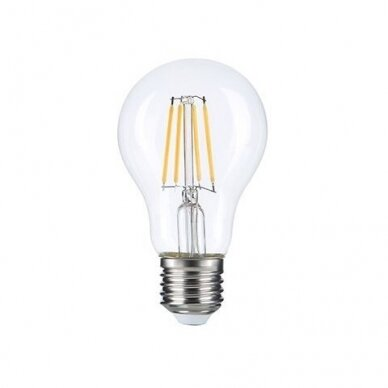 LED FILAMENT LEMPUTĖ A60 6W E27 220-240V GREELUX (3000K)