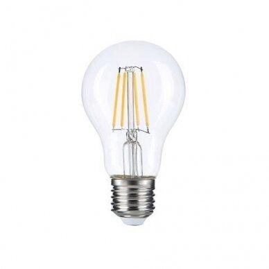 LED FILAMENT LEMPUTĖ A60 8W E27 220-240V GREELUX (3000K)