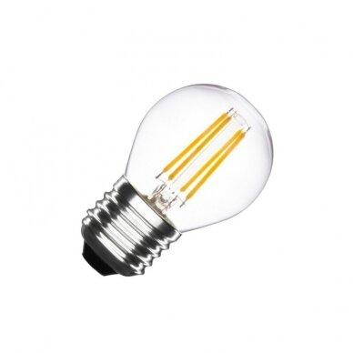 LED FILAMENT LEMPUTĖ G45 4W E27 220-240V GREELUX