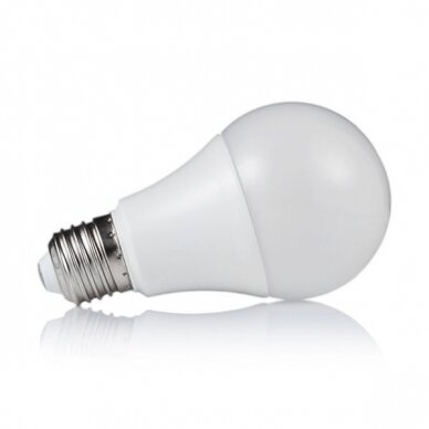 LED LEMPUTĖ A60 7W E27 220-240V GREELUX (2700K)