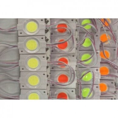 LED MODULIS Module 2.4W green CW COB