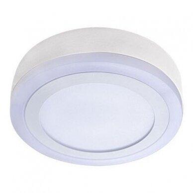 LED ŠVIESTUVAS Winter-plus ceiling 12W DW + 4W WW