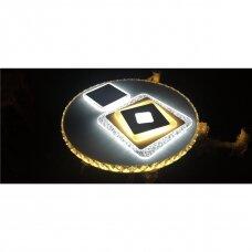 Lubinis LED šviestuvas Snow Wory su valdymo pultu