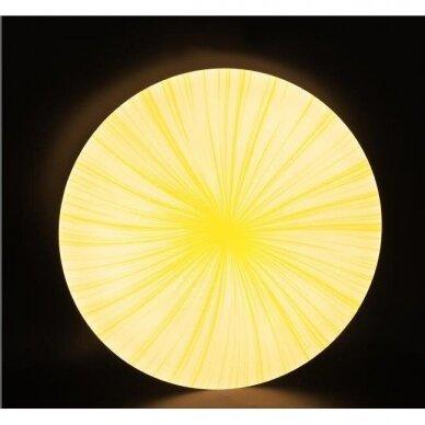 Lubinis LED šviestuvas Ivory Sun 2