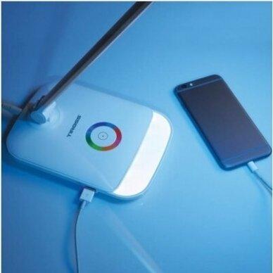 STALINIS LED ŠVIESTUVAS SU USB JUNGTIMI 2